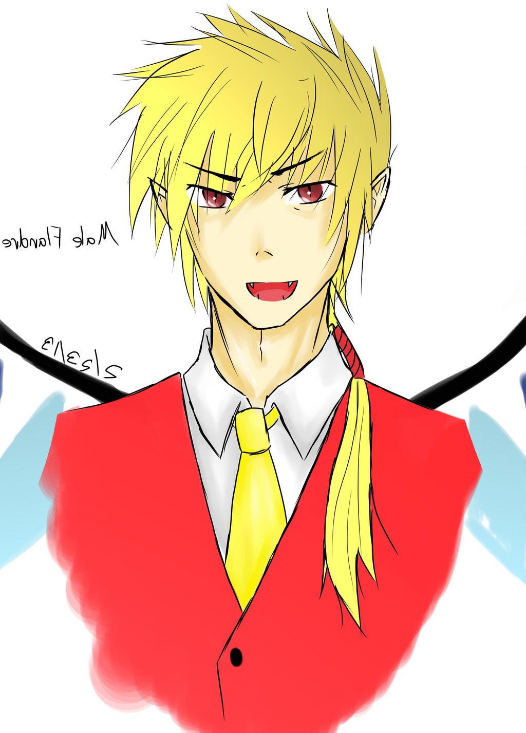 Male Flandre Scarlet Portrait by Kotuea
