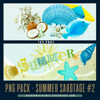 Summer Sabotage PNG Pack 02 by Sativa by Rainbowepidemic