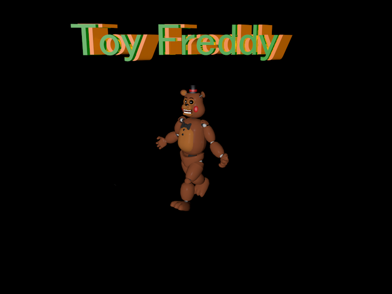 Toy Freddy Cinema 4d by BonnieMLG9