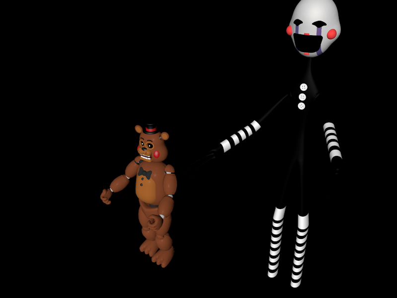 Toy Freddy E Marionete by BonnieMLG9