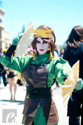Kyoshi Warrior by megsnow