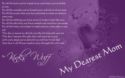 My Dearest Mother by KhaleiVi