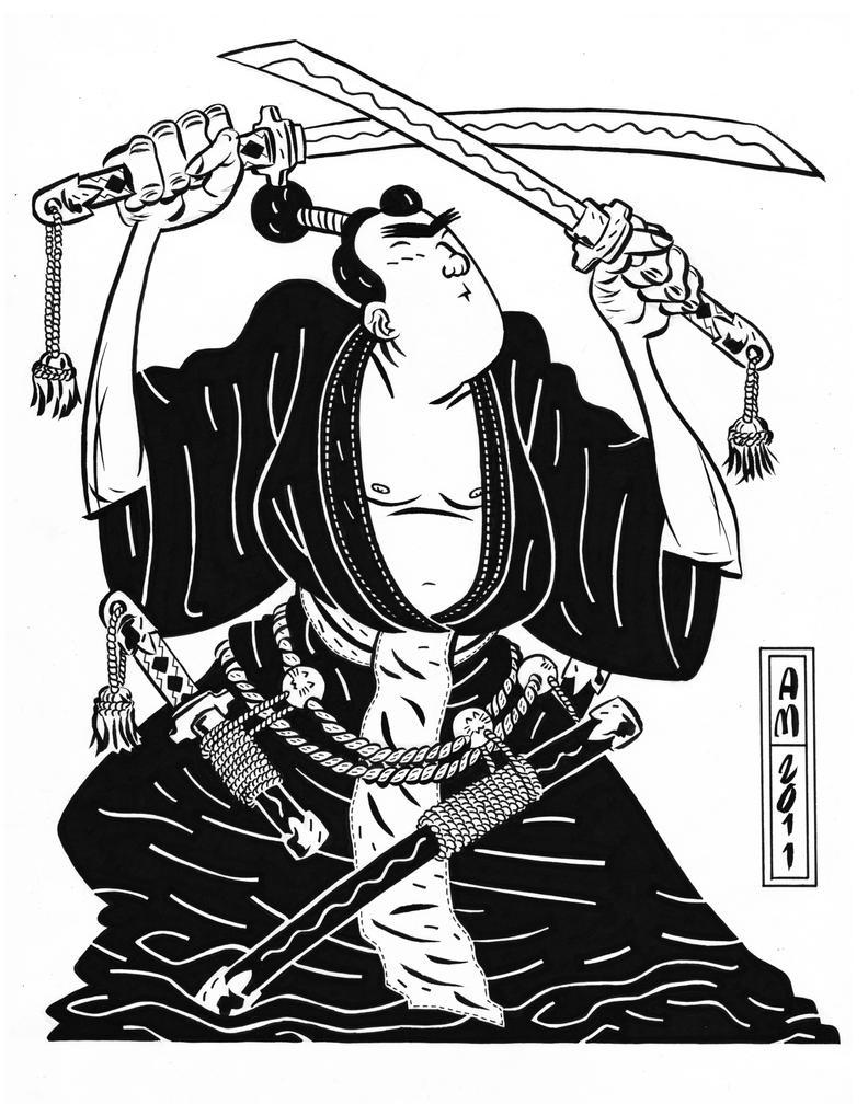 Samurai by Andrew-Ross-MacLean