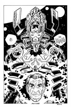 King Kirby and Galactus