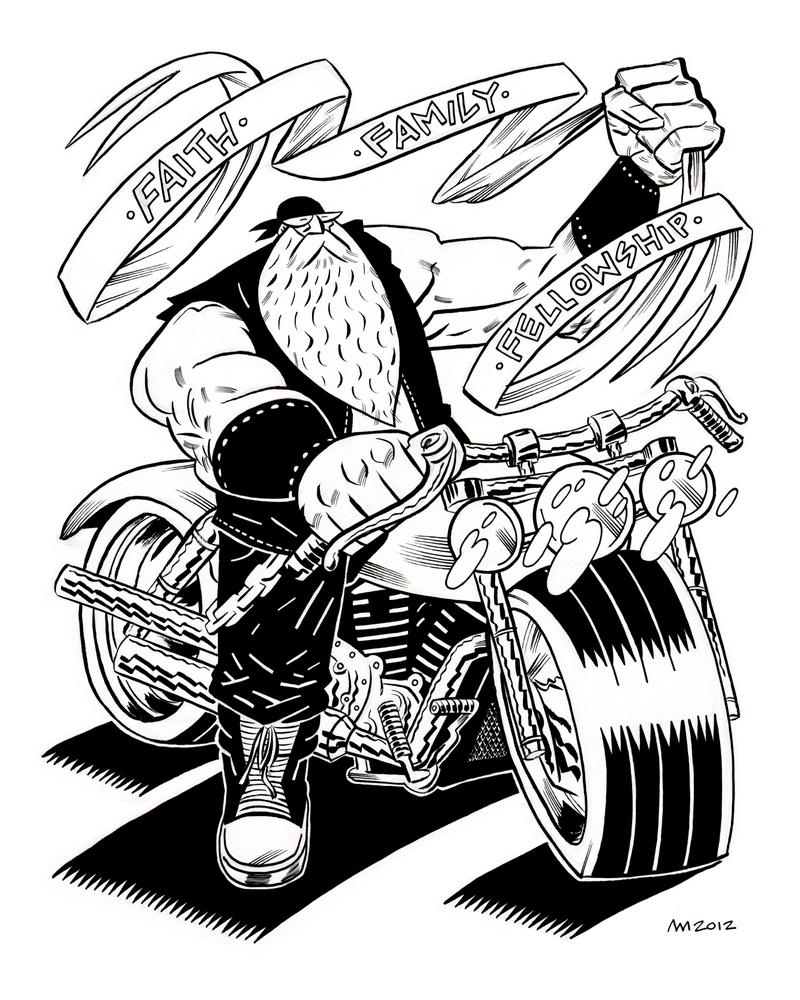 Bubba's Tattoo by Andrew-Ross-MacLean