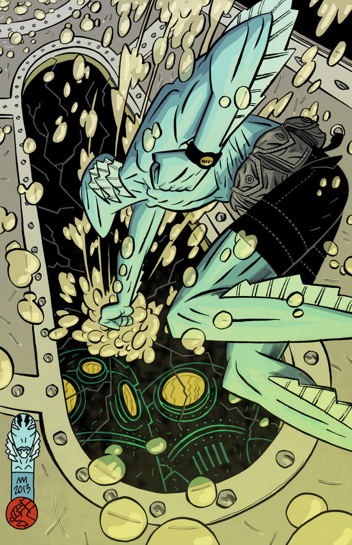 ABE SAPIEN by Andrew-Ross-MacLean