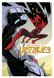 Pinup for The Victories by Andrew-Ross-MacLean