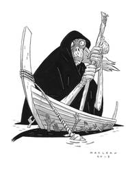 The Ferryman by Andrew-Ross-MacLean