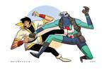 Karate Kid VS Joe Mars COLORED