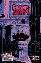 INVADER ZIM NYCC Exclusiv Variant Cover by Andrew-Ross-MacLean
