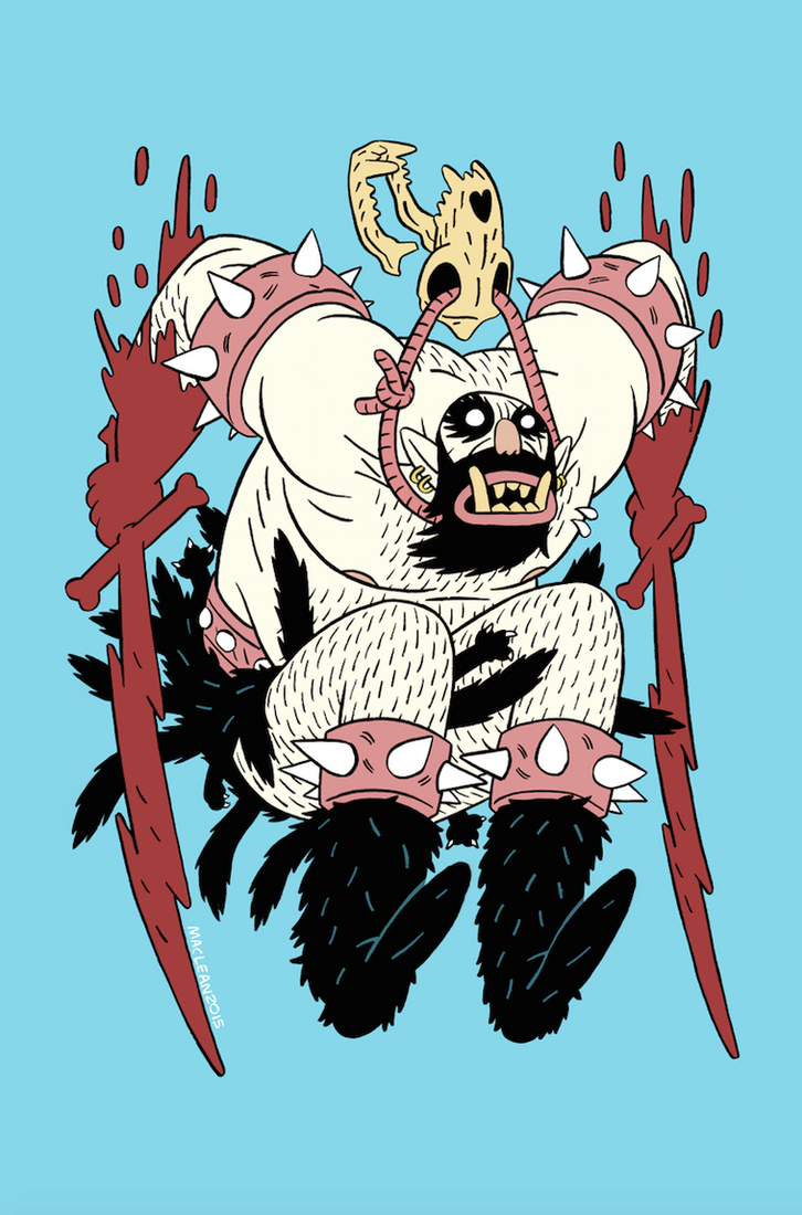 Wuvable Oaf OGRE by Andrew-Ross-MacLean