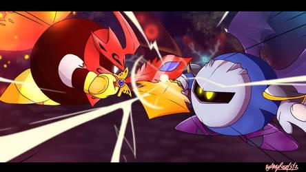Kirby Star Allies fake anime screenshot by amyrose1513
