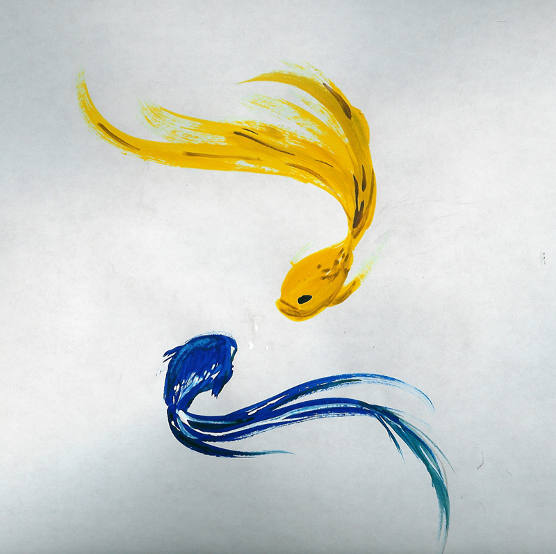Tattoos and designs on pinterest watercolor tattoos for Watercolor fish painting