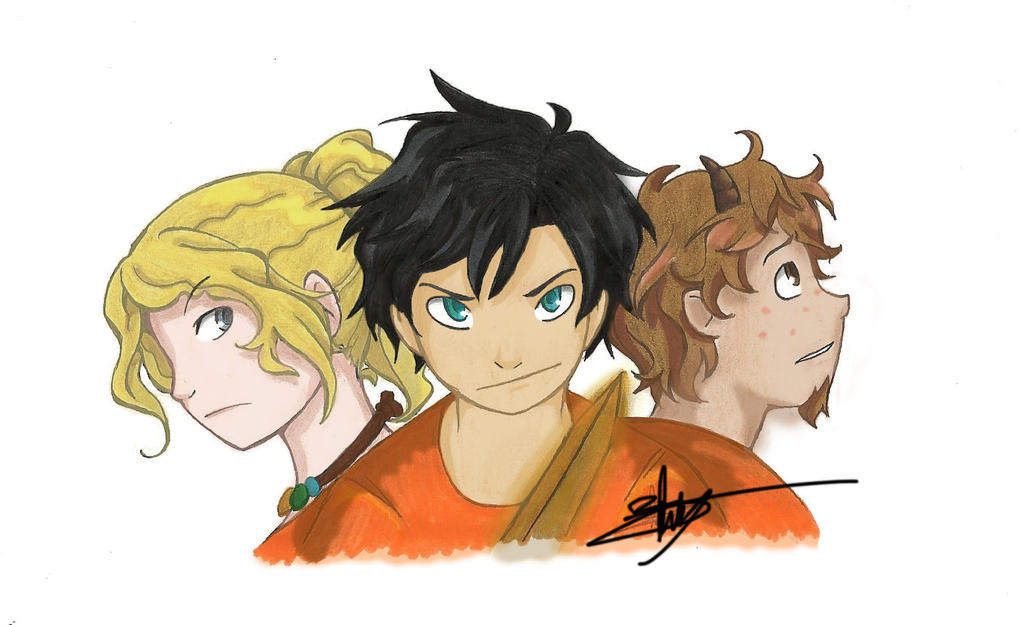 Percy Jackson 1 by Blowitch