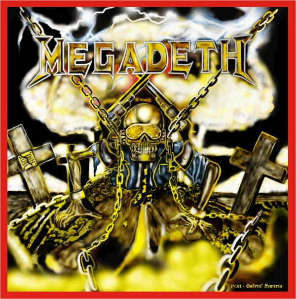 destruction  megadeth by eslayer666