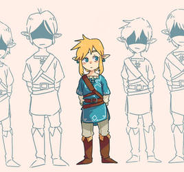 Link Knight by kamifoxart