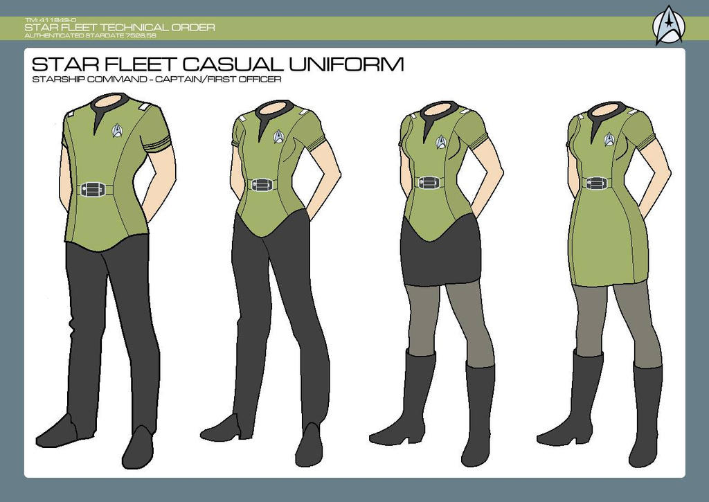 Captain/First Officer Casual Uniform by JBogguess