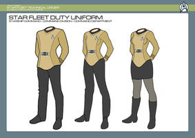 Command Division - Command Duty Uniform by JBogguess