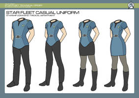 Sciences Division - Medical Casual Uniform by JBogguess