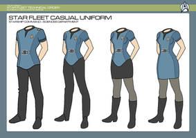 Sciences Division - Sciences Casual Uniform by JBogguess