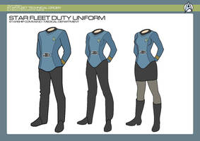 Sciences Division - Medical Duty Uniform by JBogguess