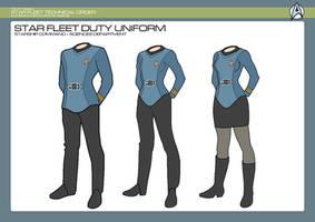 Sciences Division - Sciences Duty Uniform by JBogguess
