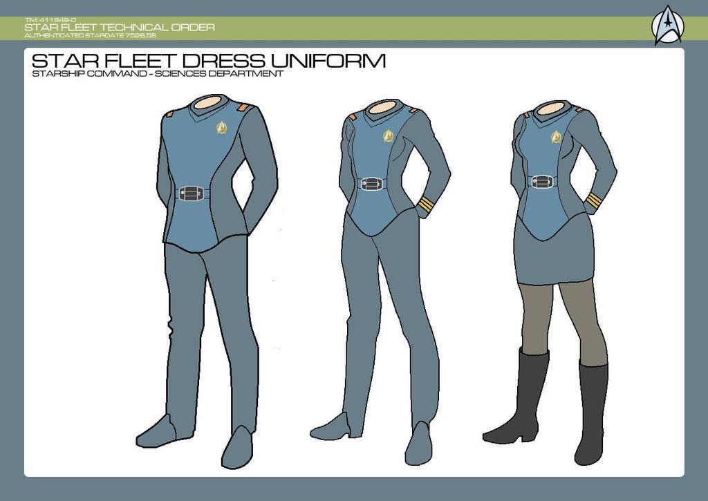 Sciences Division - Sciences Dress Uniform by JBogguess