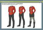 Support Services - Security Duty Uniform by JBogguess
