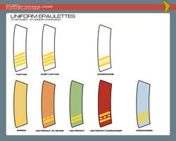 Uniform Epaulettes - Starship Command by JBogguess