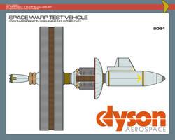 Space Warp Test Vehicle - 2061 by JBogguess