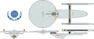Space Control Ship - Excelsior Class