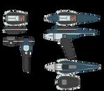 Hand Phaser Type I and II