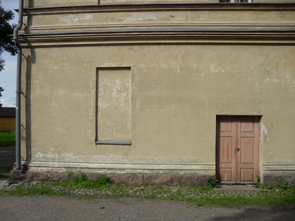 Wall window door