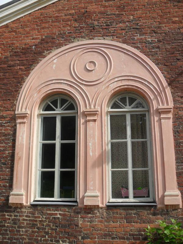Big pink window
