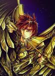 Sisifo Gold Saint Sagitarius