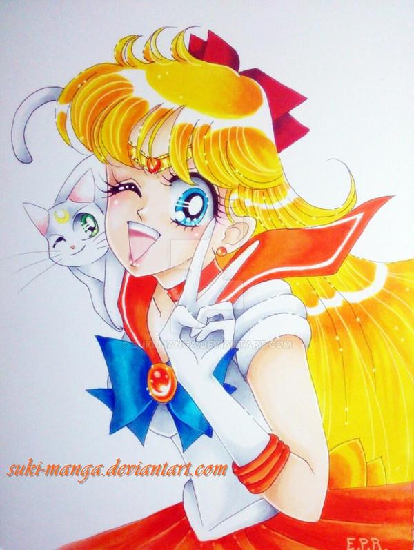 Sailor Venus fan art by Suki-Manga