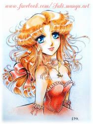 Dress in pink, OC Ai by Suki-Manga
