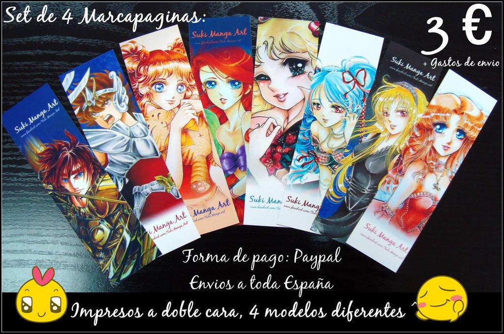 Marca paginas Suki Manga Art by Suki-Manga