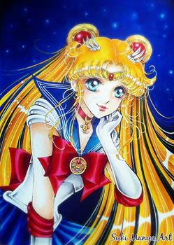 Always thinking of you, Sailor moon fan art