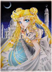 Princess Serenity fan art by Suki-Manga