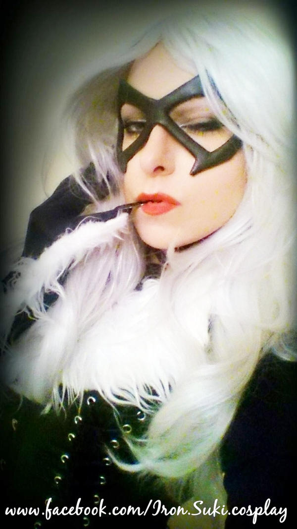 Black Cat cosplay, eyeblink by Suki-Manga