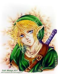 Link, The Legend of Zelda by Suki-Manga
