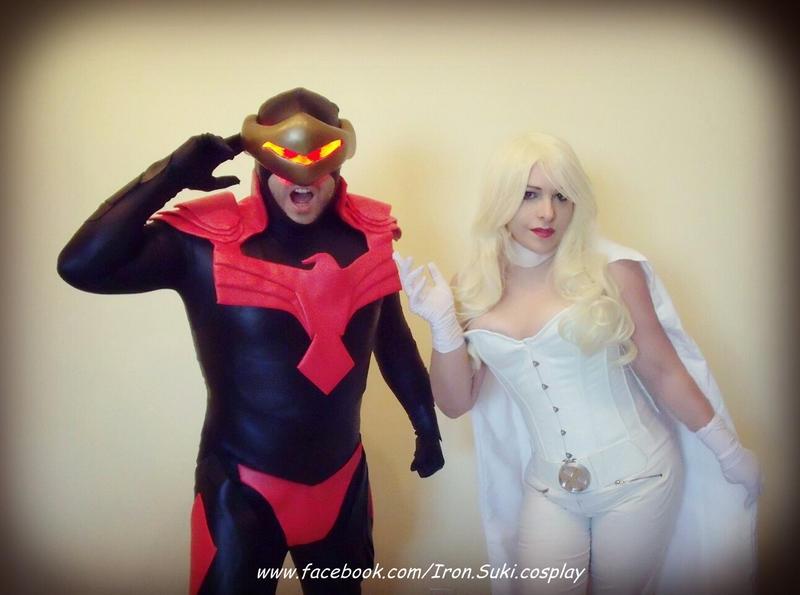 Emma Frost and Cyclops Phoenix cosplay by Suki-Manga