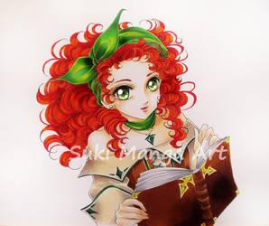 Fuchs, OC commission by Suki-Manga