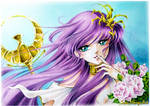 Saori Kido, Athena by Suki-Manga