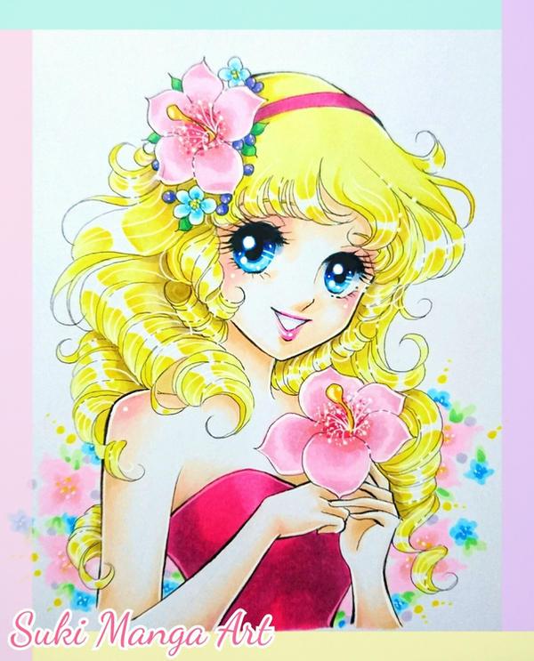 How to colour classic shojo manga with Copic by Suki-Manga