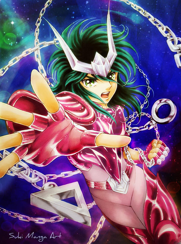 NEBULA CHAIN!!!! Andromeda Shun fan art