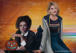 Missy And 13th Doctor by MikaelaLovett