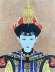 Queen with FengGuan in Qing Dynasty