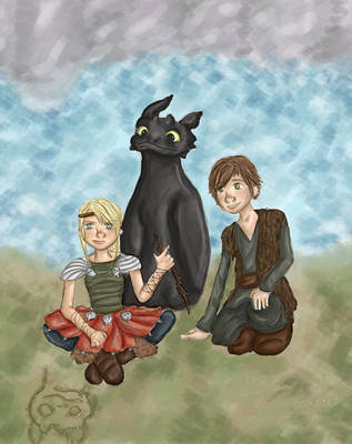 how to train your toothless by influences